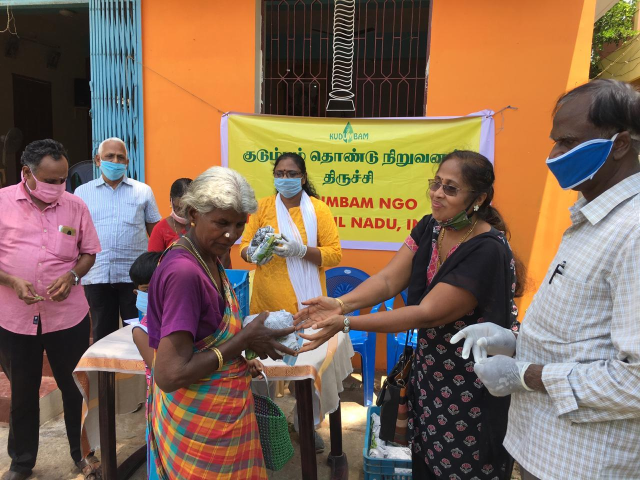 Extending Relief measures to the most vulnerable families and the families of migrant workers of Pudukkottai and Nagapattinam districts