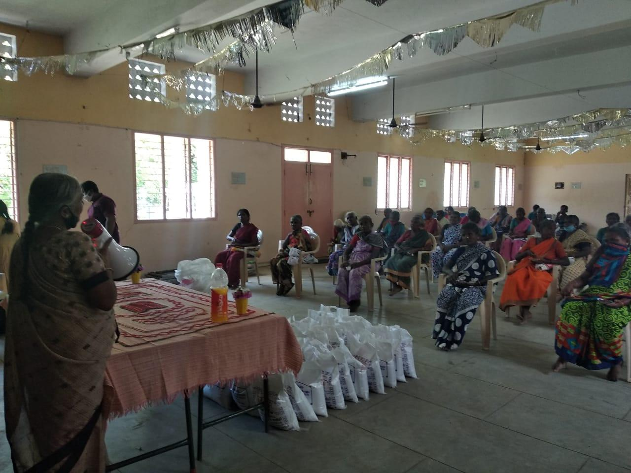 5th phase of relief work in Pudukkottai district